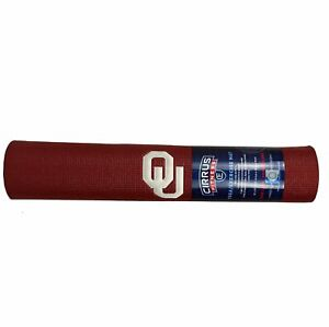 Oklahoma Sooners Officially Licensed NCAA Yoga Exercise Mat