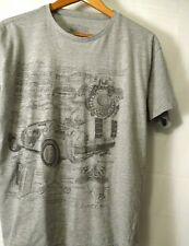 """Back To The Future Teen Tee Young Men Ex-Large Gray T-Shirt 21""""Pit 24""""Long Xl"""