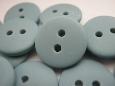 """10 Blue Sewing Buttons 15mm (5/8"""") Boys Clothes Buttons Sewing Knitting Buttons"""