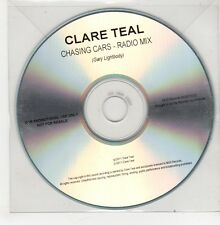 (GO869) Clare Teal, Chasing Cars - 2011 DJ CD