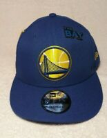NEW ERA 9FIFTY Draft On Stage Golden State Warriors Snapback Hat Cap NBA w/ Pin