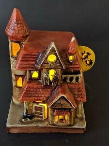 Vintage 1986 House Of Lloyds Halloween Ceramic Haunted House