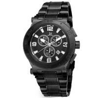 Joshua & Sons JX104BK Swiss Quartz Chronograph Date Black Mens Watch