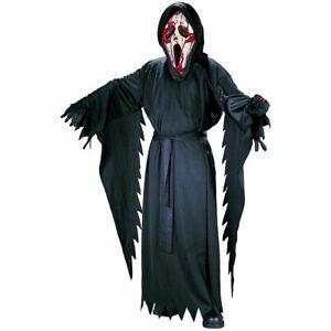 New Bleeding Ghost Face Costume Kids Scream Halloween FunWorld 8774