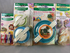 Clover Pom Pom-Pom Maker Set 4 Packages 7 Sizes XS - XL, Free & Fast Shipping