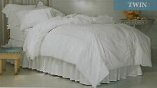 Simply Shabby Chic Lace Mesh Duvet Cover Shams Set ~ NEW Twin