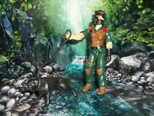 G I GI JOE 1984 DOG HANDLER MUTT WITH JUNKYARD DOG  FIGURE