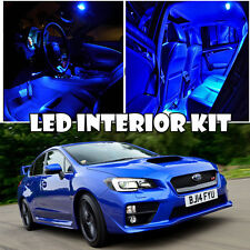 For 11-16 Subaru WRX STI LED Xenon Blue SMD Interior Light LED Bulb Kit QTY 10pc