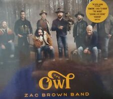 "ZAC BROWN BAND: The Owl (CD) ""SEALED"""