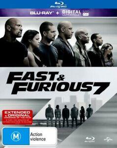 Fast and Furious 7 (Blu Ray)Vin Diesel, Paul Walker, Dwayne Johnson