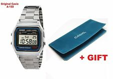 Casio A-158W Digital Unisex Watch Original New Retro A-158 + Gift - Case Cover
