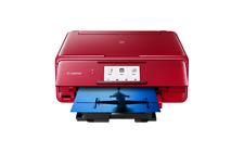 Canon Pixma TS8152 Tinten-Multifunktionsgerät rot A4 3in1 Duplex WLAN Bluetooth