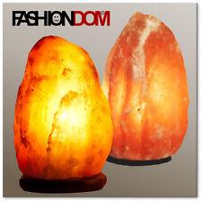 Salzlampen aus Khewra 2 - 4 kg südl. d. Himalaya (Salt Range) Dekolampen Lampe