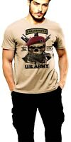 Paratrooper T-Shirt Military Airborne Jumpwings Combat Arms Black Ops Death