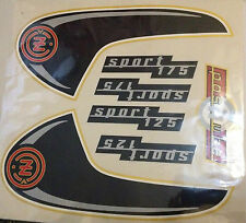 CEZET 175 CZ125 SPORT 175 125 DECAL GRAPHIC STICKERS SET