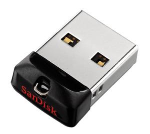 SanDisk Cruzer Fit USB 16GB 32GB 64GB Flash Drive Memory Stick