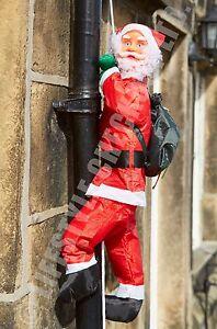 UK SUPPLIED  90cm SANTA CLIMBING ROPE Christmas Festive Decoration Ladder SOR90