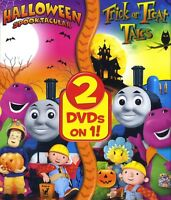 Halloween 2-pack: Spooktacular, Trick or Treat Tales, new DVD children education