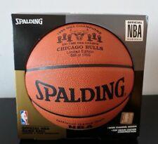 Chicago Bulls Spalding Basketball Six NBA Champs 1991 1992 1993 1998 Jordan LE