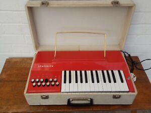 Vintage Retro Original 60s Selmer Companion Reed Organ Harmonium in Carry Case