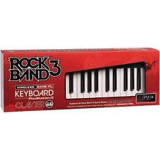 NEW PS3 Rock Band 3 Wireless Keyboard Clavier Mad Catz RockBand SEALED