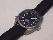 TACTICO TC3 GMT POWER RESERVE AUTOMATIC, LIMITED EDITION,SWISS SOPROD 9035, MINT