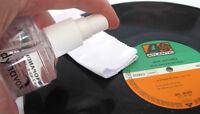 Dynavox Reinigungsflüssigkeit Reinigungsspray für Schallplatten mit Tuch