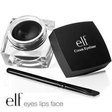 ELF E.L.F. Cosmetics Waterproof CREAM EYELINER GEL Dip Liner & Brush BLACK VEGAN