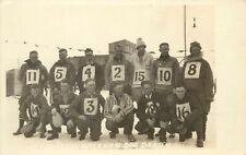 RPPC Postcard; Drivers, 1927 American Dog Derby Ashton ID Sled Dog Race