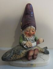 Goebel Co-Boy Gnome FIPS Cleaning Fish W Germany