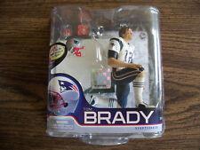 MCFARLANE NFL 27 TOM BRADY CL BRONZE FIGURE WHITE JERSEY/LONG HAIR 1901/2000