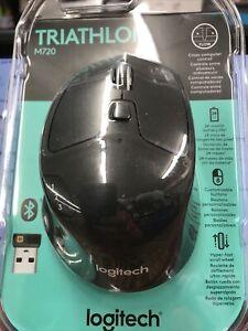 Logitech M720 Triathlon Wireless Mouse - Black