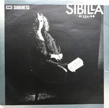 LP 45 SIBILLA Oppio Svegliami 1982 italy EMI STEREO
