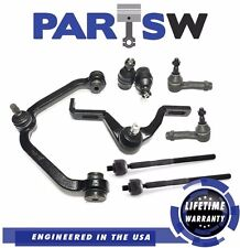 8 Pc Suspension Kit for Ford Mazda Mercury Control Arms Ball Joints Tie Rod Ends