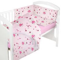 BABY BEDDING SET 2 PCS COT BED QUILT DUVET PILLOW CASE COVER NURSERY NEW DESIGNS
