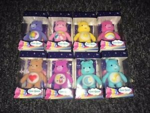 Care Bears Collectible Flock Figures 3 inch Flocked Posable Select Yours