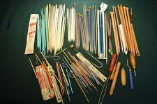 Vintage lot of Crochet & Knitting accessories Over 100 items