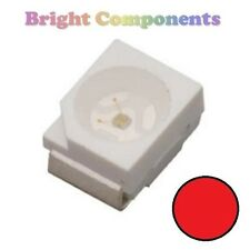 10 x Red PLCC-2 LED (SMD SMT 3528/1210) - Ultra Bright - UK - 1st CLASS POST