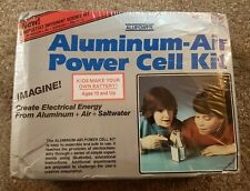 ALUPOWER Vintage Aluminum-Air Power Cell Kit dated 1987