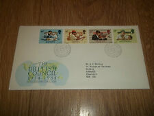 POST OFFICE FIRST DAY COVER THE BRITISH COUNCIL 1934 - 1984 ~ 25 SEPTEMBER 1984