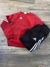 Boys Adidas Tracksuit Age 7-8