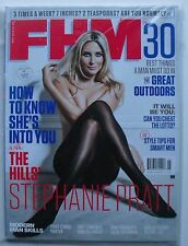 STEPHANIE PRATT May 2015 (UK) FHM Magazine MODERN MAN SKILLS