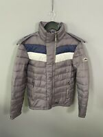 SUPERDRY PUFFER Jacket - Size XS - Grey - Great Condition - Men's