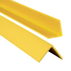 PVC Winkelprofil 35x35mm Selbstklebend  Kunststoff Gummi Kantenschutz 70-200cm