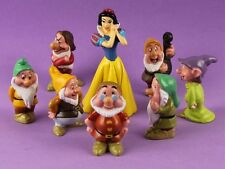Disney Snow White With Seven Dwarfs Cake Topper Figures Figurines Set of 8pc AU
