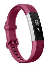 Fitbit ALTA HR Wristband Activity Tracker (Fb408spms) - Fuchsia, Small