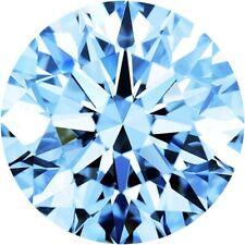 Parcel Natural Super Fine Aqua Blue Sapphire Melee - Round - AAAA Grade