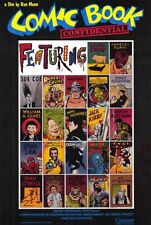 COMIC BOOK CONFIDENTIAL Movie POSTER 27x40 Lynda Barry Charles Burns Sue Coe
