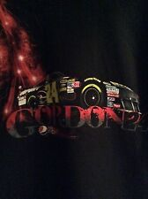 NASCAR Jeff Gordon #24 Pepsi Max Black T-shirt 100% Cotton Size Medium