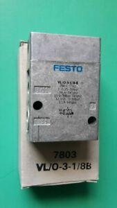Pneumatikventil Festo VL/O-3-1/8-B 7803 - NEU, OVP - VL/0-3-1/8-B